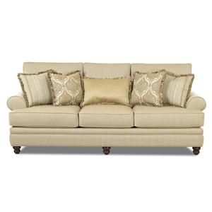 Klaussner Darcy Rolled Arm Sofa
