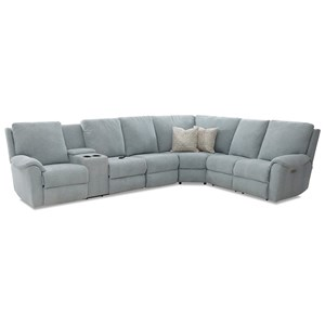Pwr Recline Sectional w/ LAF Cnsl & Pwr Head