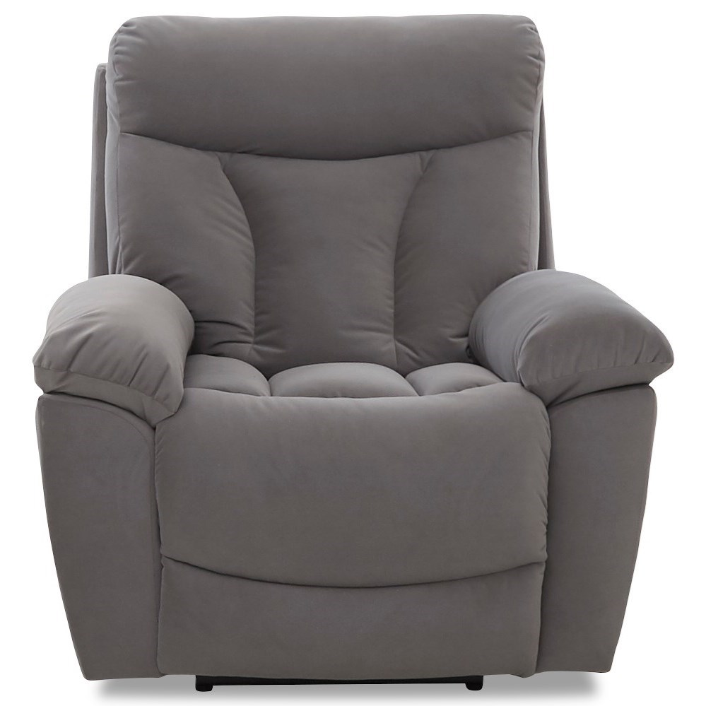 Deluxe Gliding Recliner Chair by Klaussner at Northeast Factory Direct