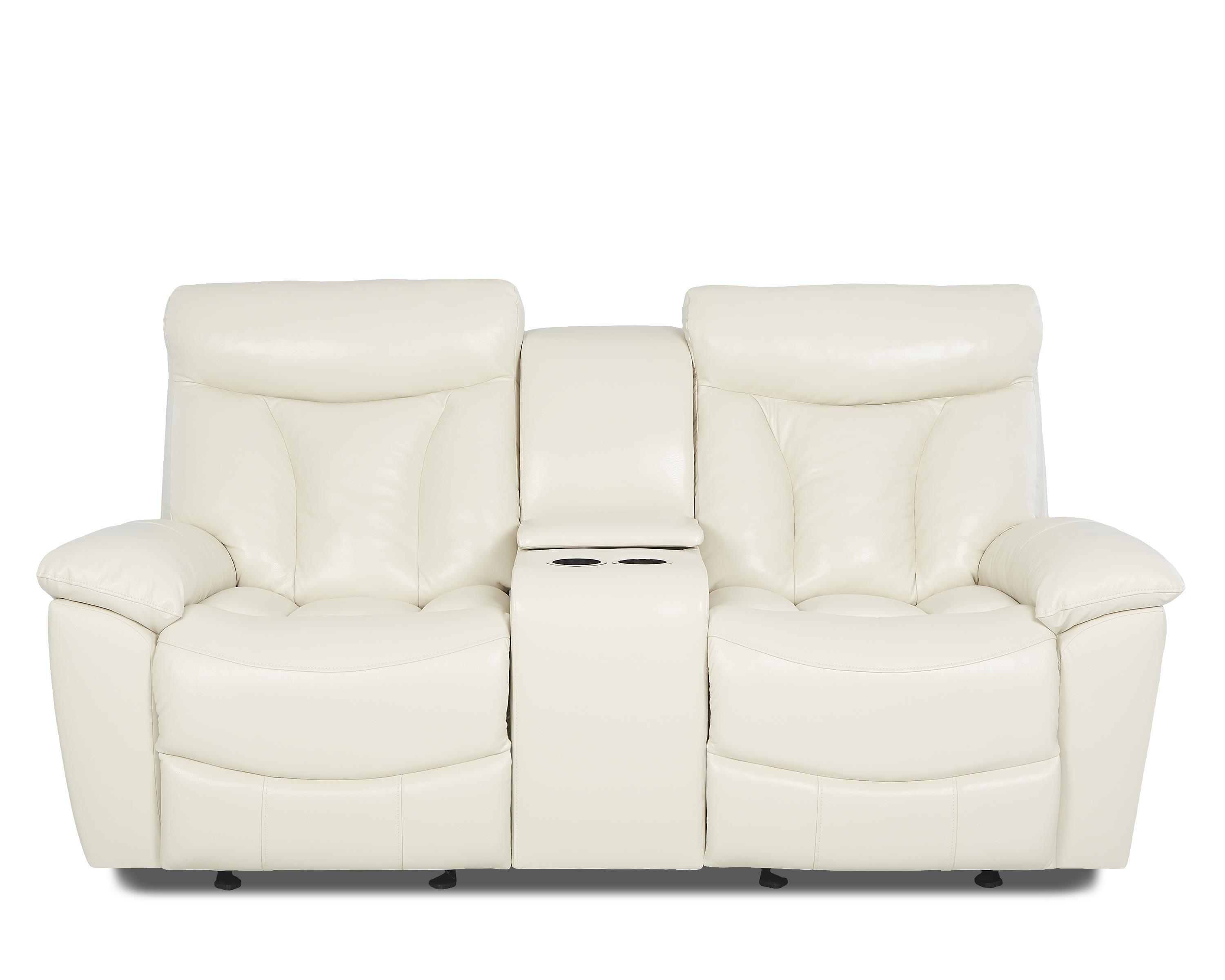 Deluxe Reclining Love Seat by Klaussner at Northeast Factory Direct