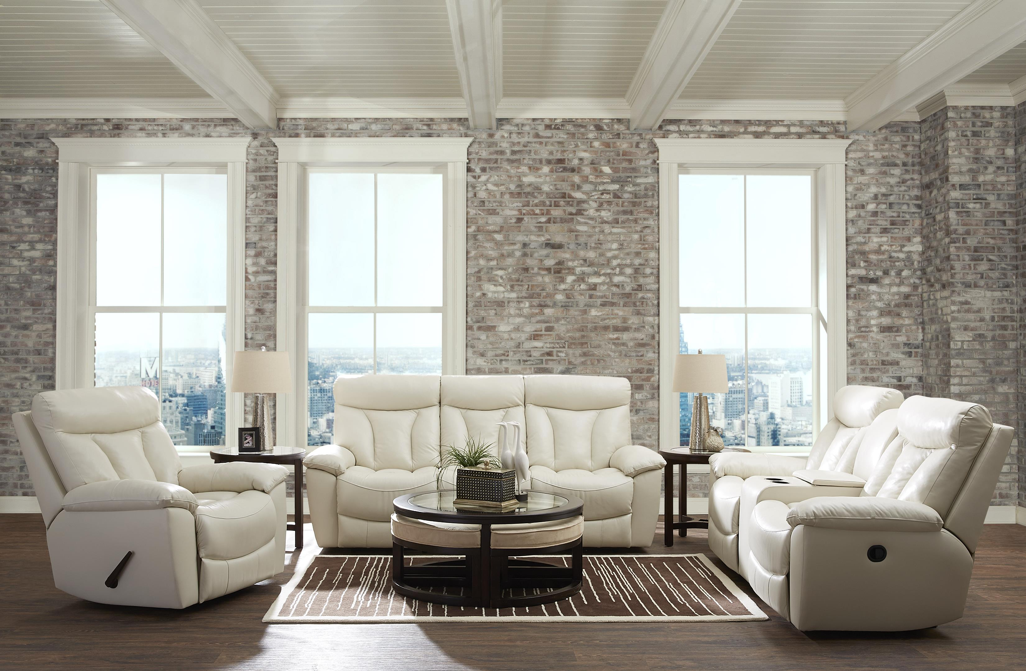 Deluxe Reclining Living Room Group by Klaussner at Johnny Janosik