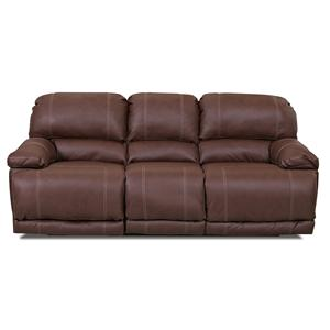 Klaussner Derek Casual Power Reclining Flat Sofa