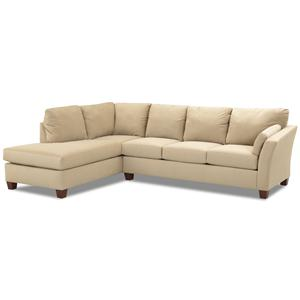 Klaussner Drew Two Piece Sectional Sofa