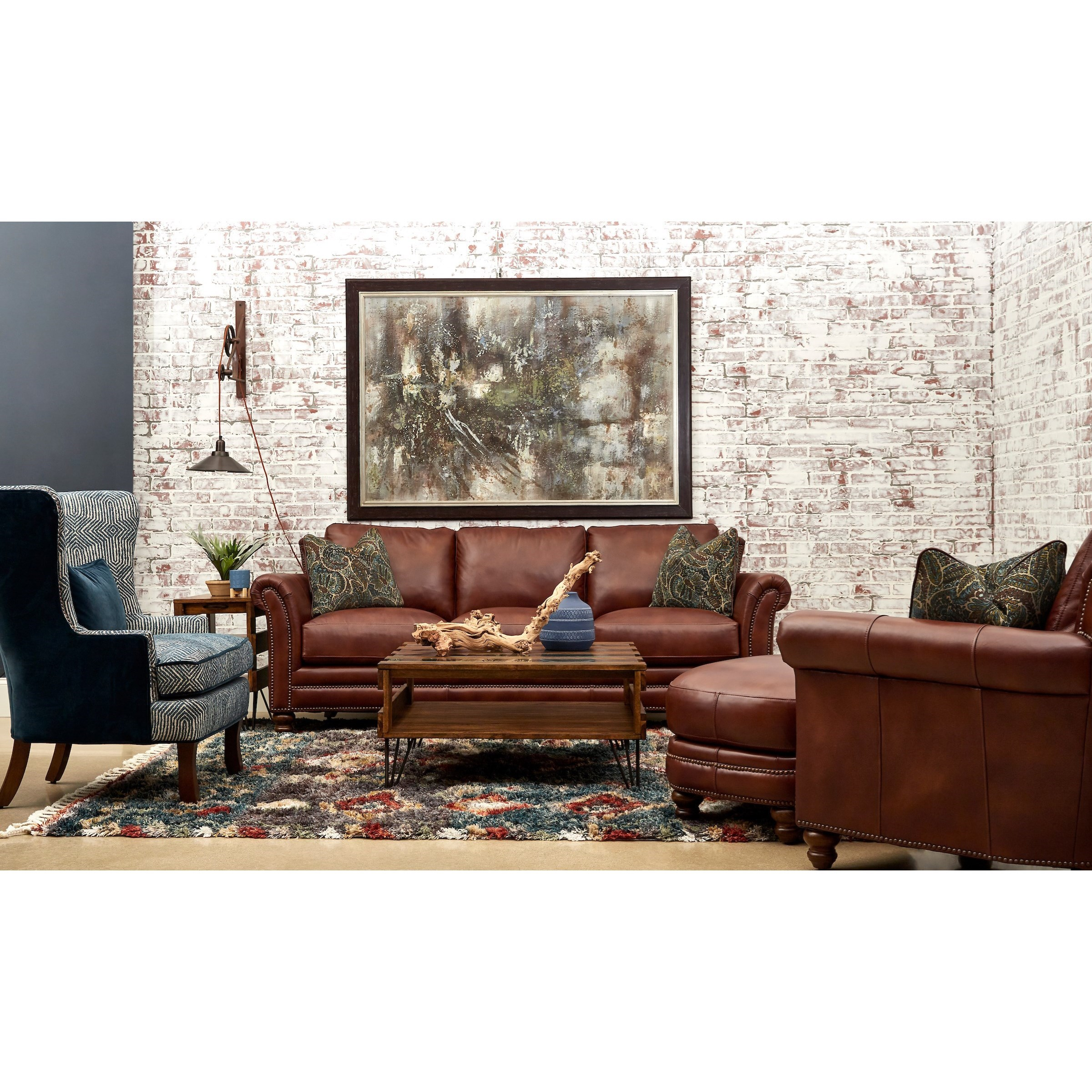 Elaine Living Room Group by Klaussner at Johnny Janosik