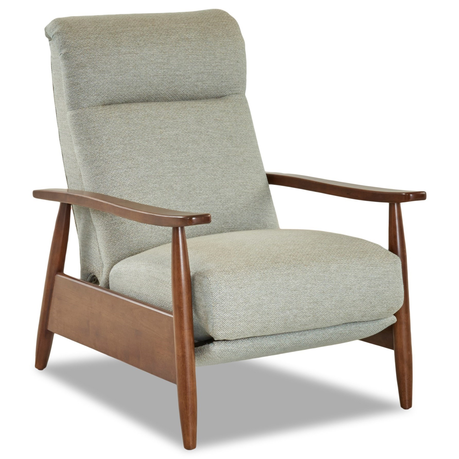 Elanor High Leg Reclining Chair by Klaussner at Lapeer Furniture & Mattress Center