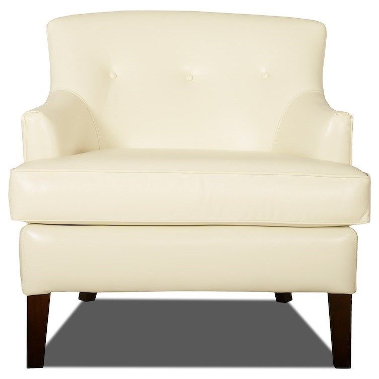 Elizabeth Occasional Chair by Klaussner at Northeast Factory Direct