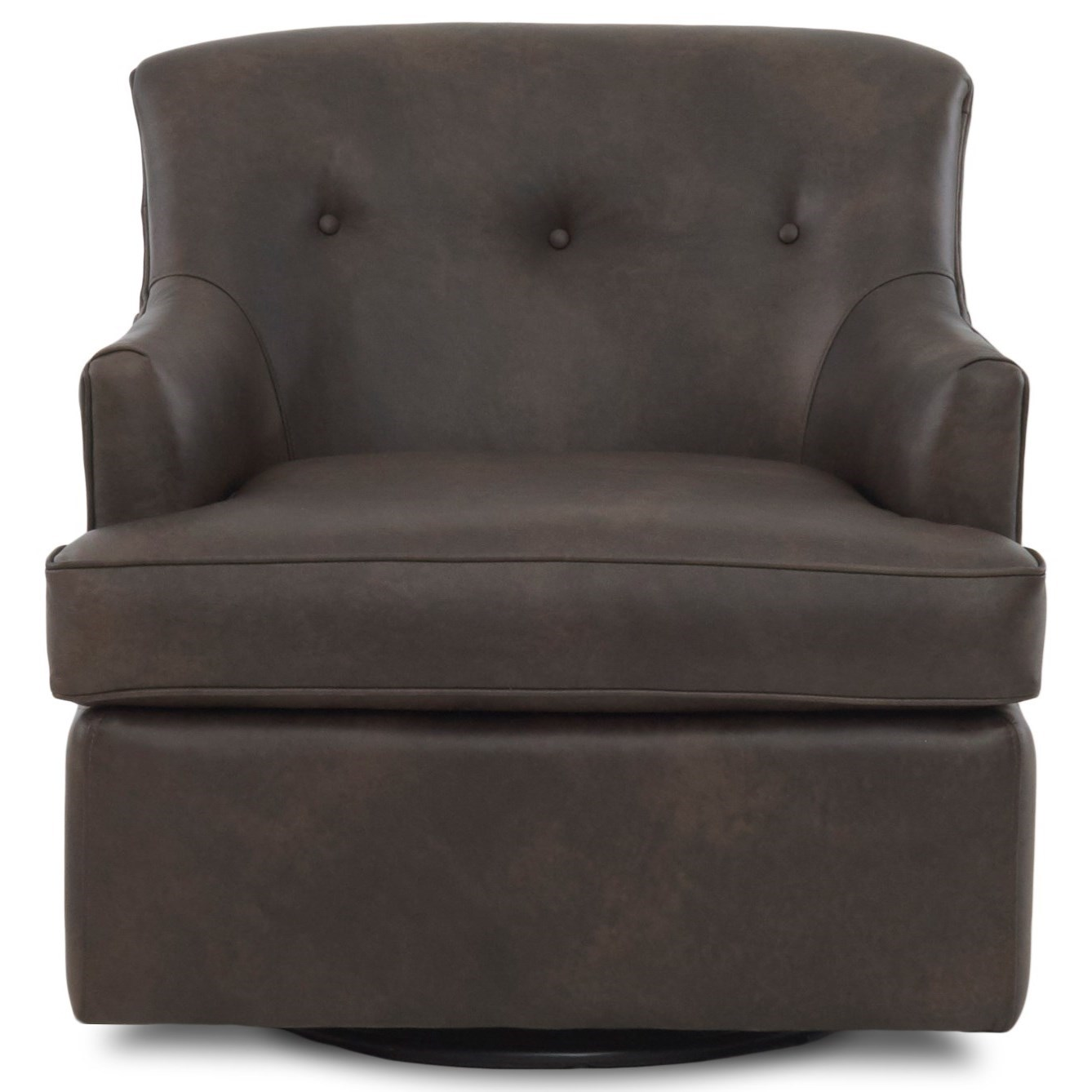 Elizabeth Swivel Glider Chair by Klaussner at Northeast Factory Direct