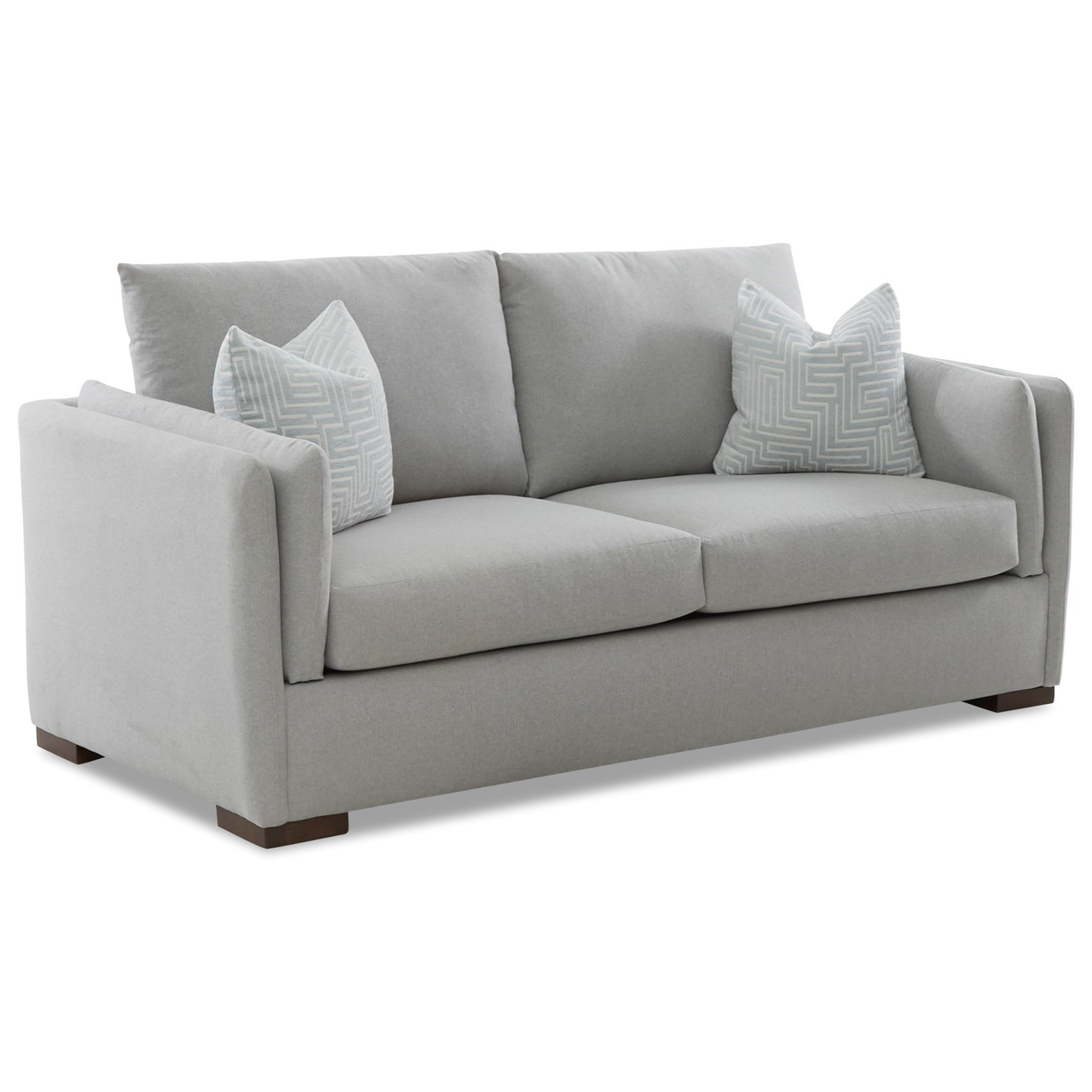 Ellyson Queen Inner Spring Sleeper by Klaussner at Northeast Factory Direct