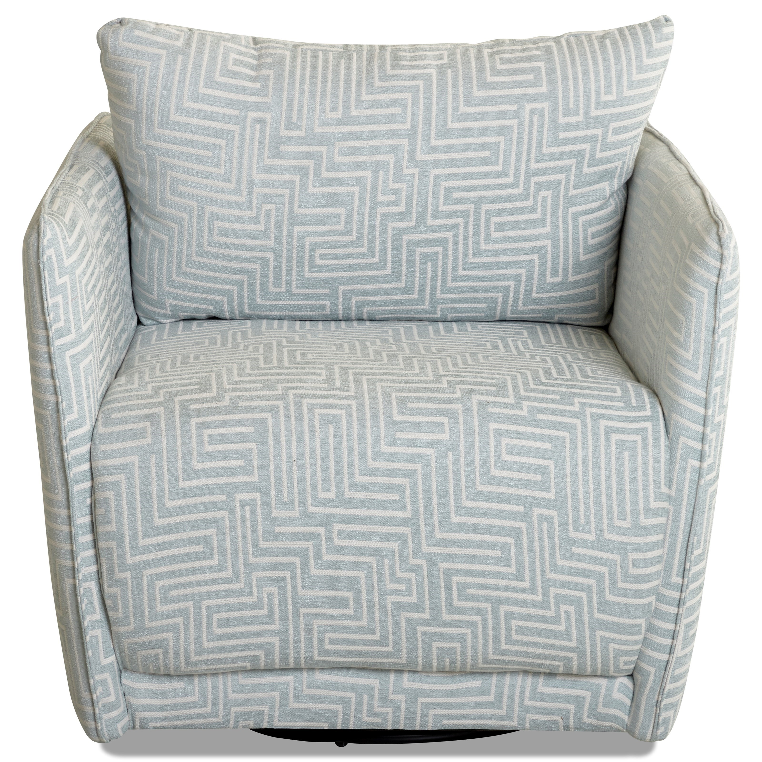 Elon Swivel Chair by Klaussner at Johnny Janosik