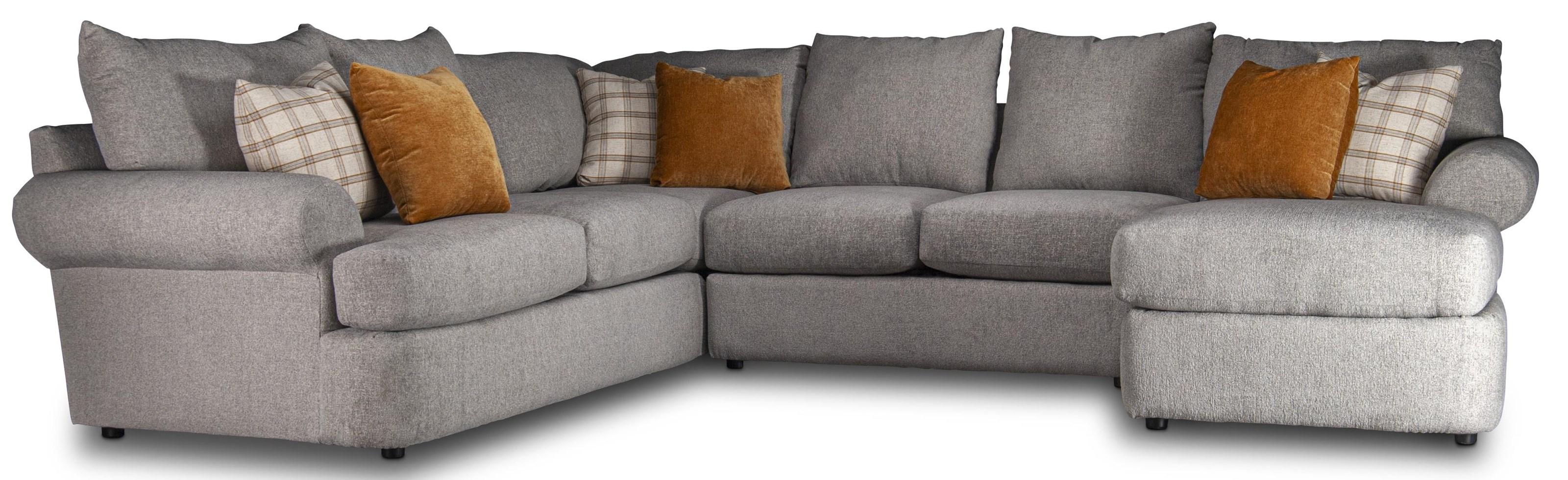 Emmett Emmett Sectional Sofa by Klaussner at Morris Home