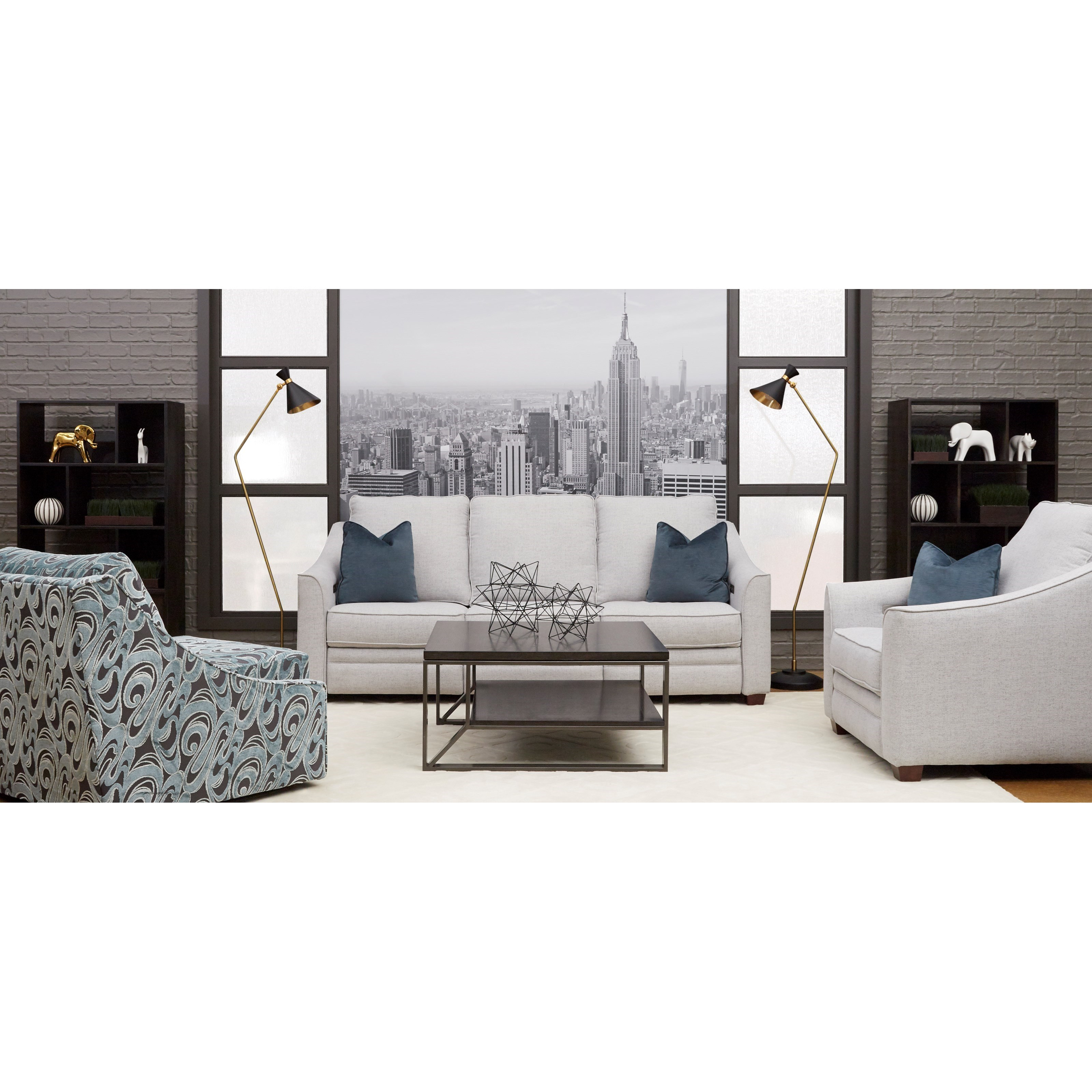 Ensley Power Reclining Living Room Group by Klaussner at Northeast Factory Direct
