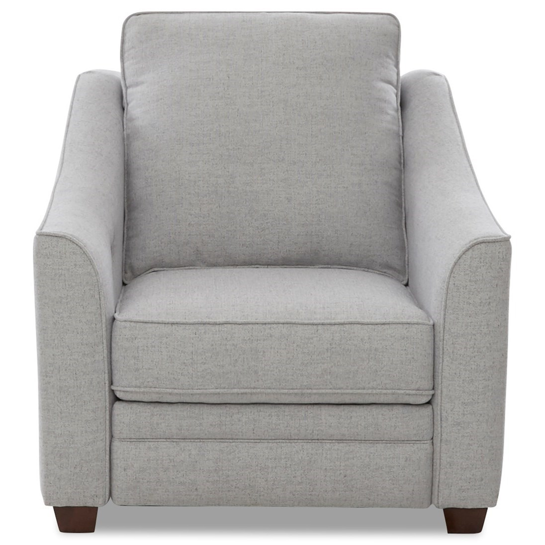 Ensley Power Hybrid Chair w/ Power Headrest by Klaussner at Johnny Janosik
