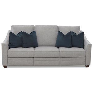 Power Hybrid Sofa w/ Pwr Hdrsts & Lumbar