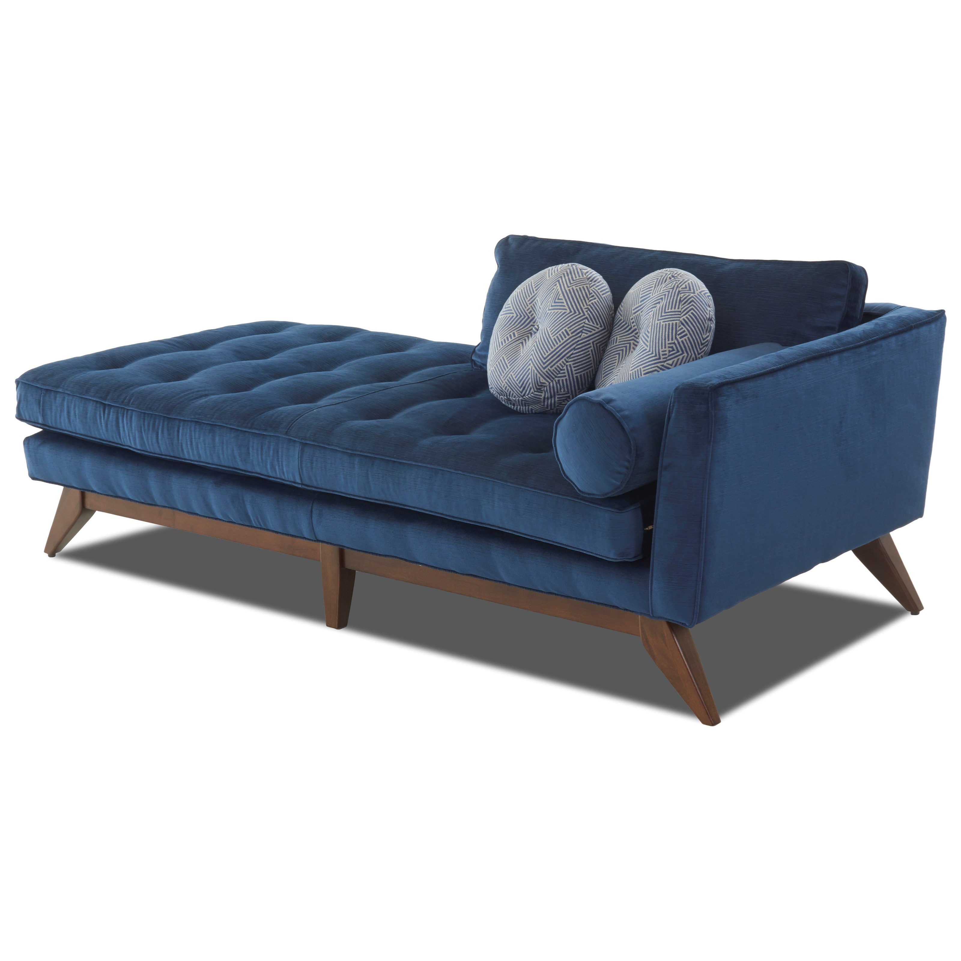 Fairfax Chaise Lounge by Klaussner at Lapeer Furniture & Mattress Center