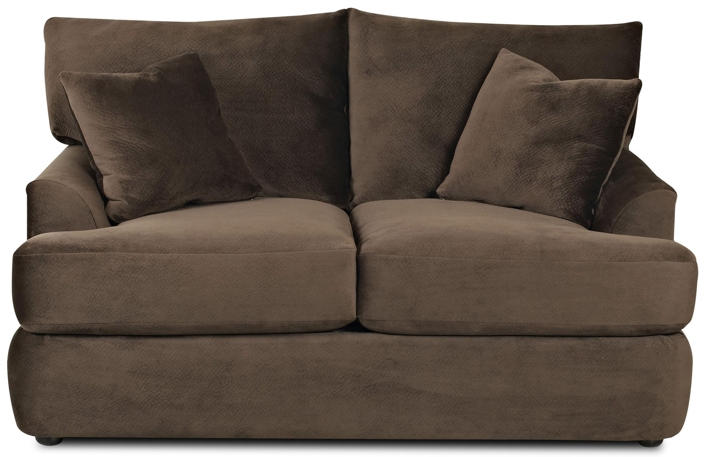 Findley Loveseat by Klaussner at Lapeer Furniture & Mattress Center