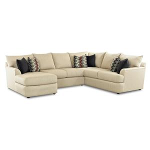 Klaussner Findley Sectional Sofa