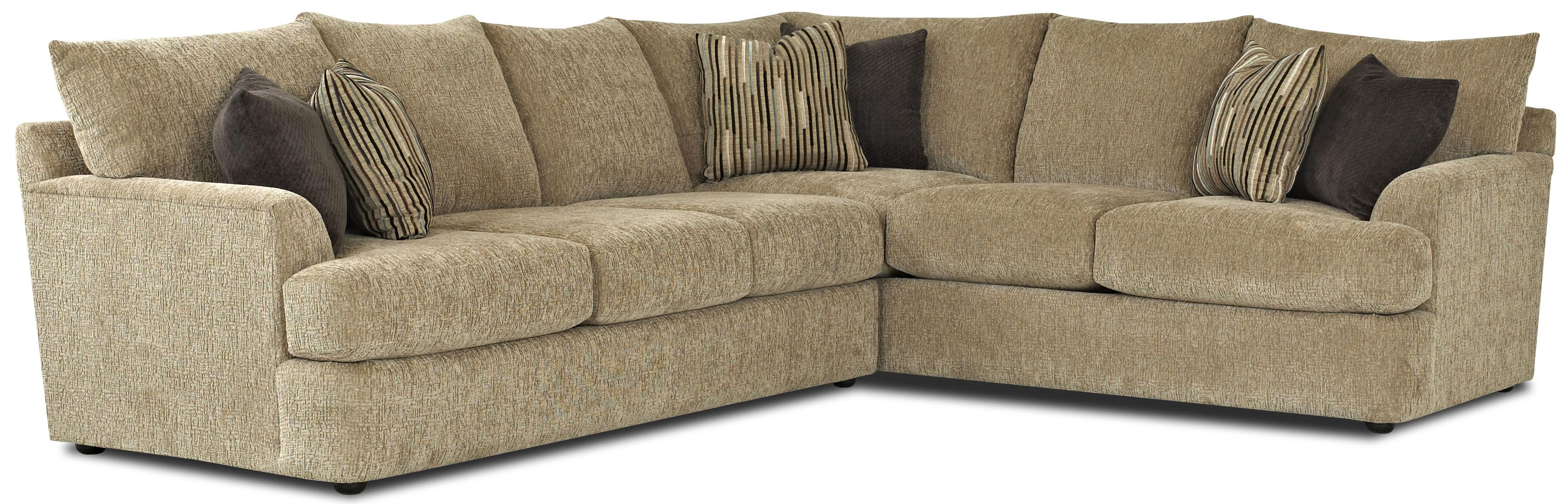Findley Sectional by Klaussner at Johnny Janosik