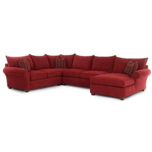 Klaussner Fletcher Sectional Sofa