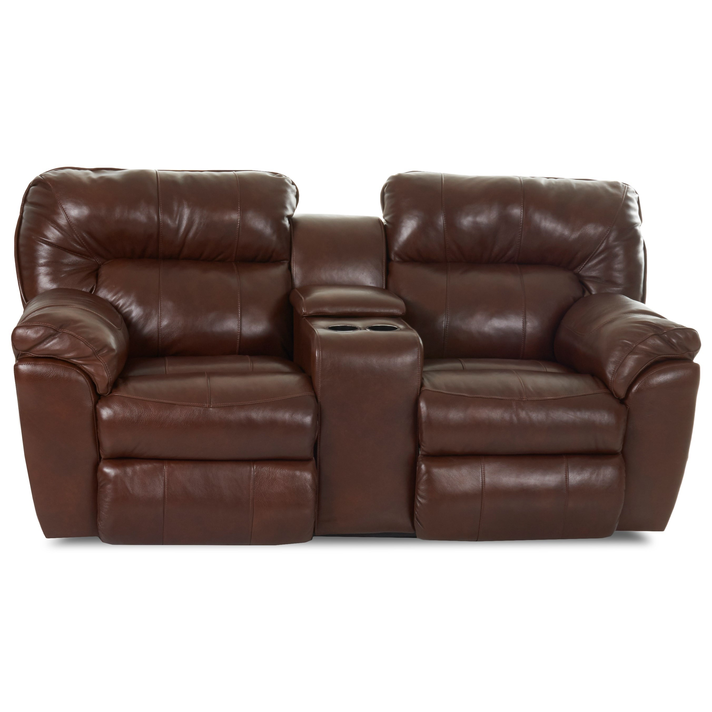 Freeman Casual Power Reclining Love Seat by Klaussner at Johnny Janosik