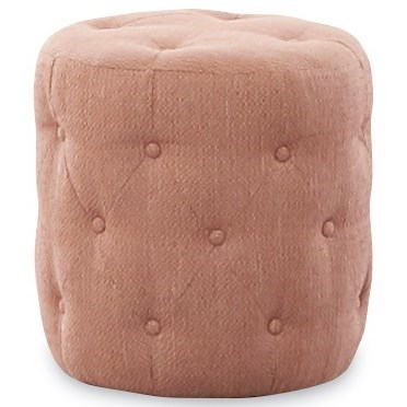 Genevieve Tall Ottoman by Klaussner at Northeast Factory Direct