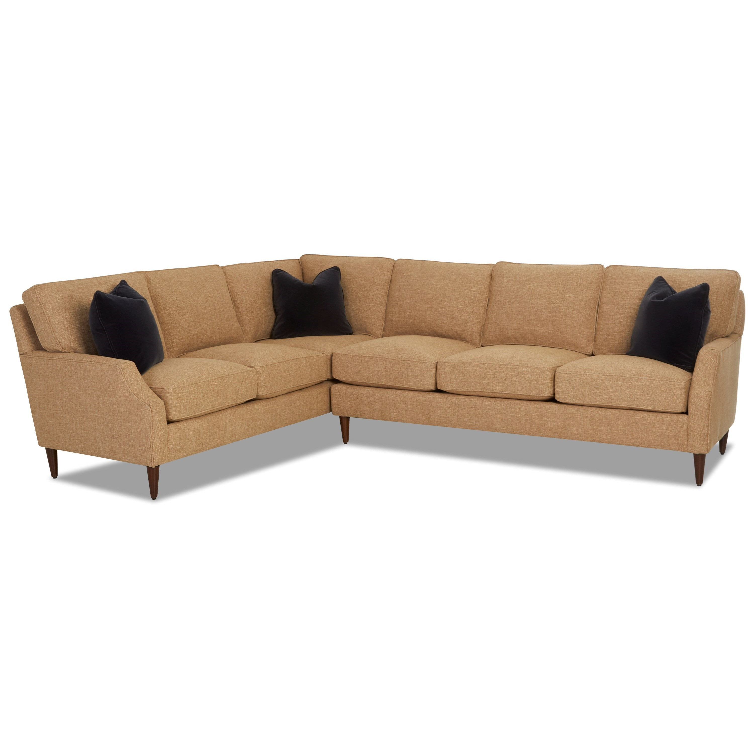Grammercy 2-Piece Sectional by Klaussner at Johnny Janosik
