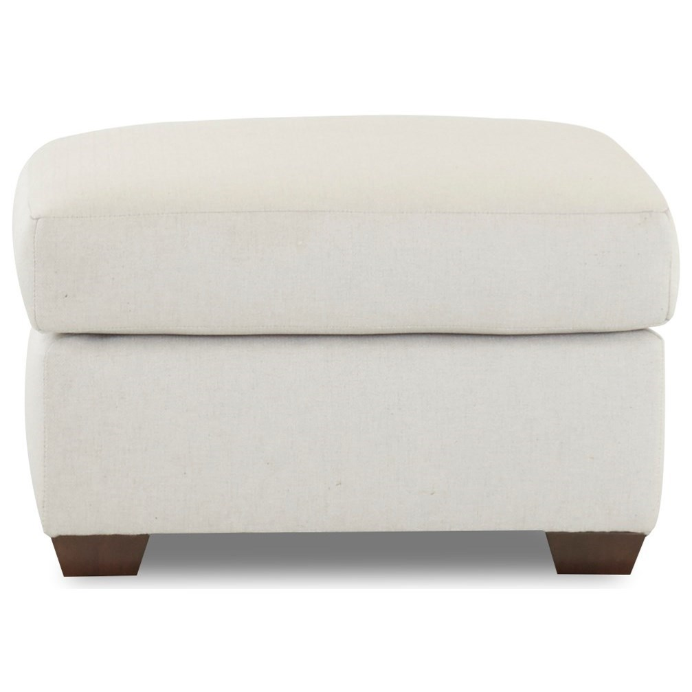 Grayton Ottoman by Klaussner at Northeast Factory Direct