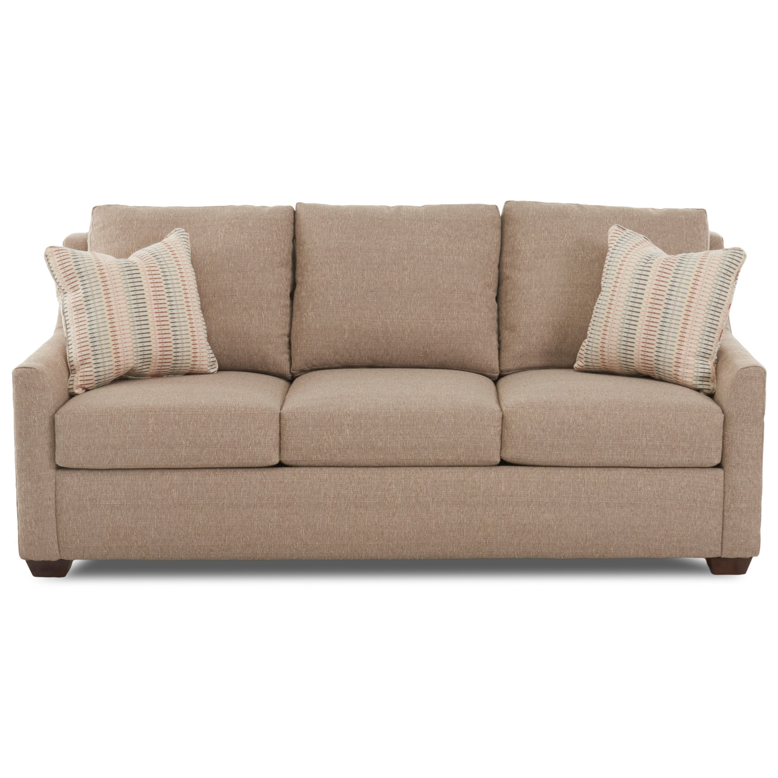 Grayton Sleeper Sofa w/ Enso Memory Foam Mattress by Klaussner at Northeast Factory Direct