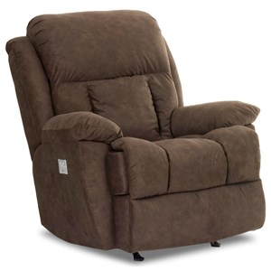Casual Power Reclining Chair with Power Headrest