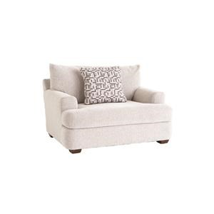 Casual Chair and 1/2 with Deep Seat
