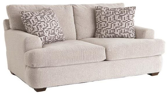 Haynes Loveseat by Klaussner at Darvin Furniture