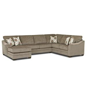 Klaussner Heston Sectional Sofa