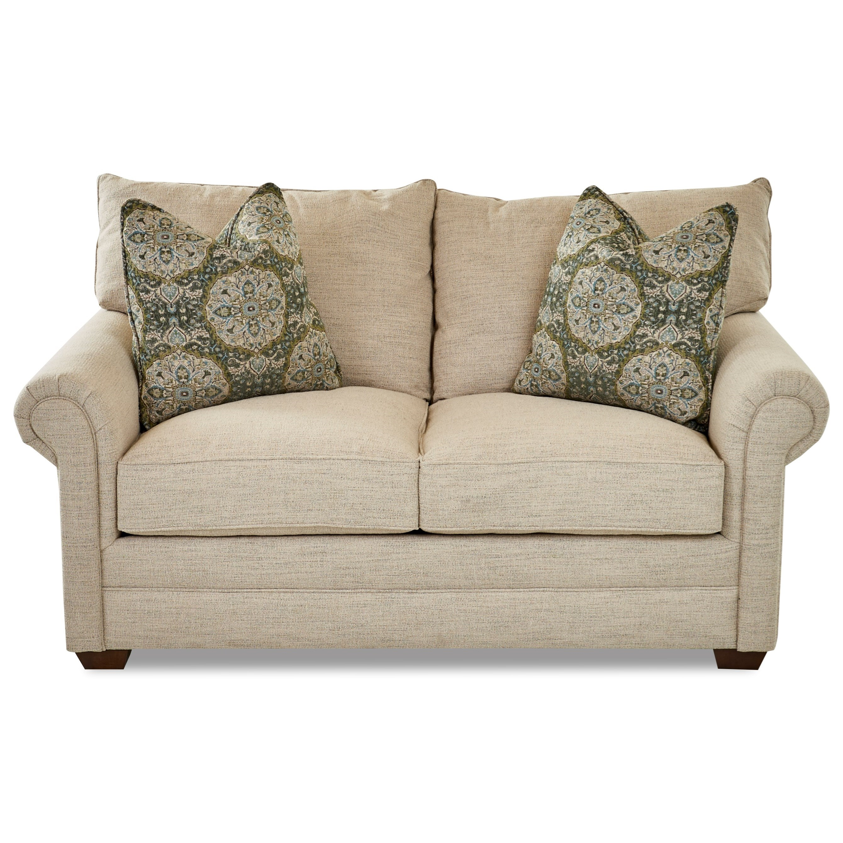 Huntley Loveseat by Klaussner at Northeast Factory Direct