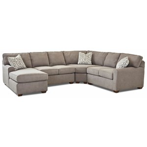 4 Pc Sectional Sofa w/LAF Chaise