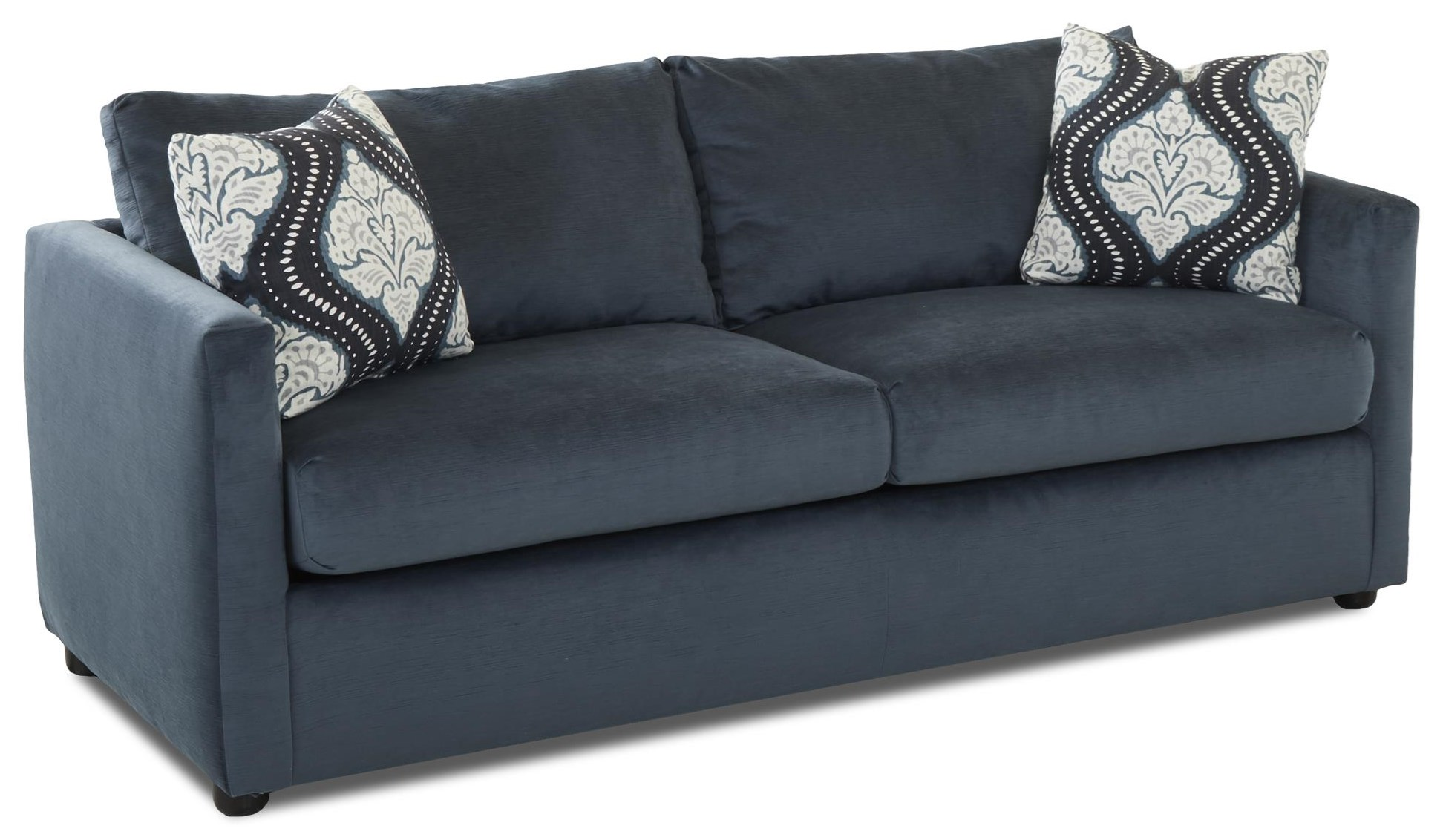 Jacobs Queen Sleeper Sofa by Klaussner at Johnny Janosik