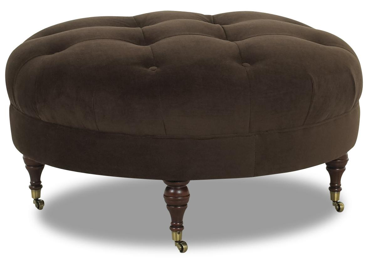 Janelle Ottoman by Klaussner at Johnny Janosik