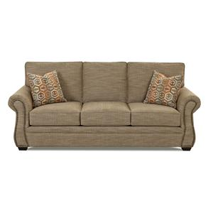 Klaussner Jasper Traditional Air Coil Mattress Sleeper Sofa