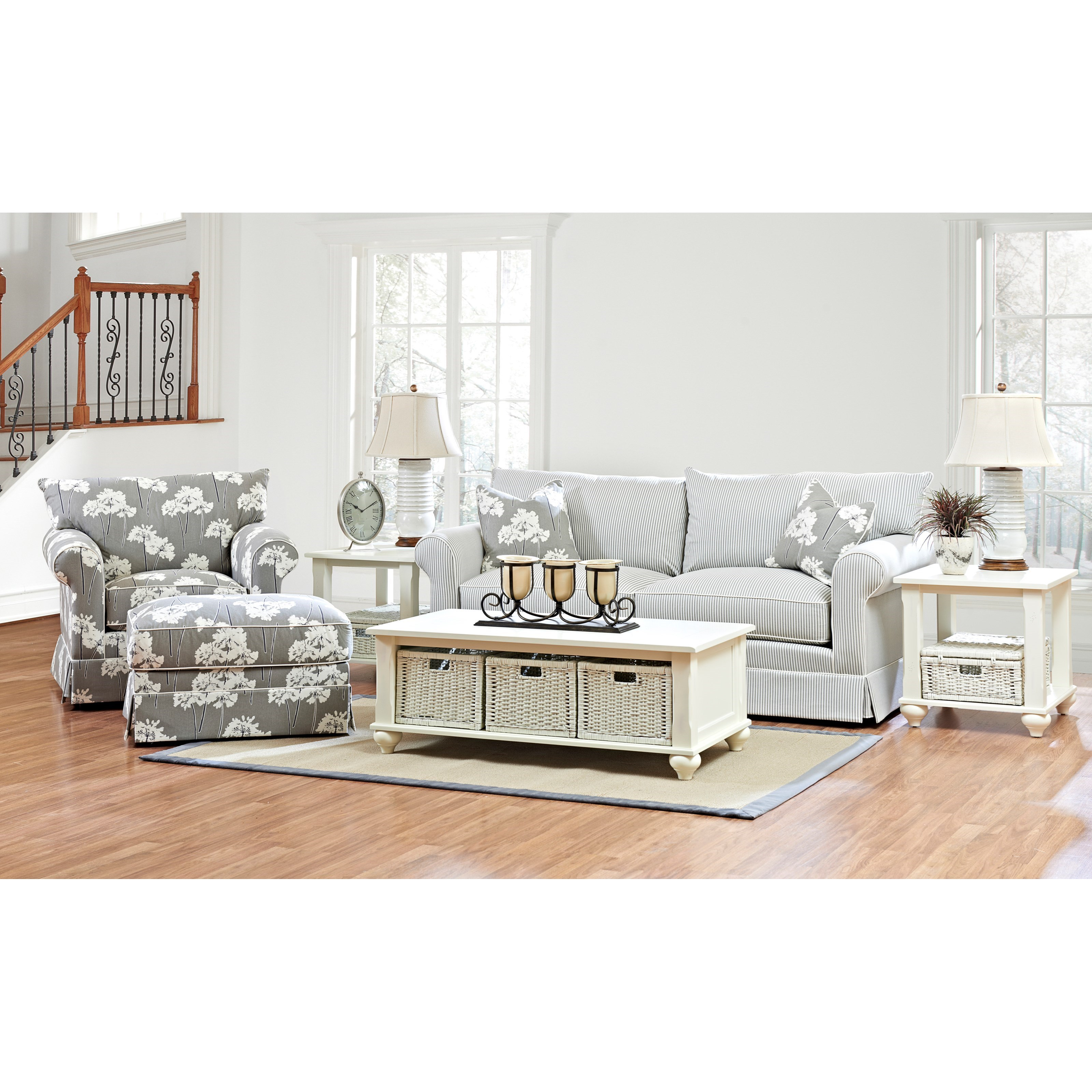 Jenny Living Room Group by Klaussner at Johnny Janosik