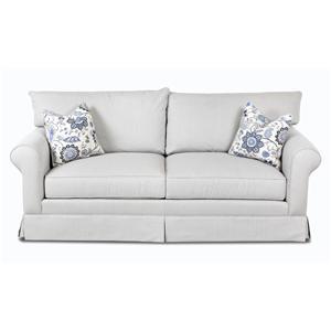 Klaussner Jenny Transitional Stationary Sofa