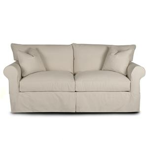 Slipcover Sofa with Skirt
