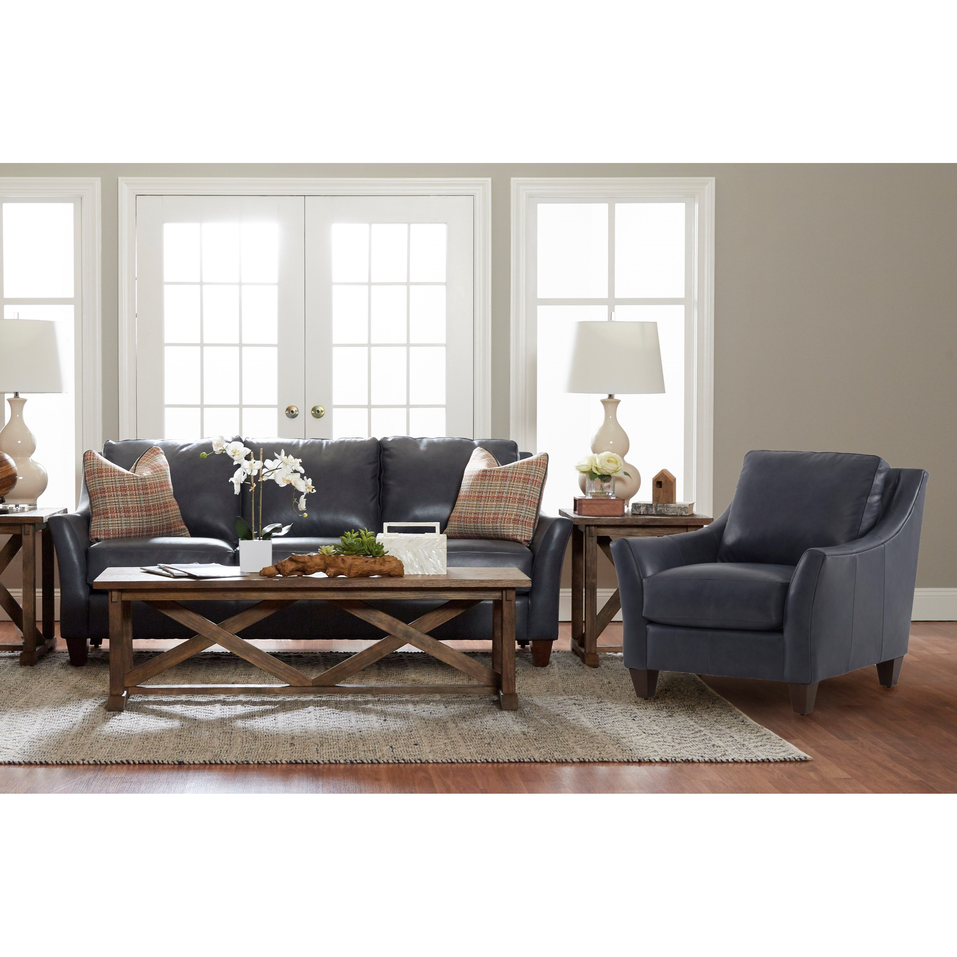 Joanna Living Room Group by Klaussner at Northeast Factory Direct