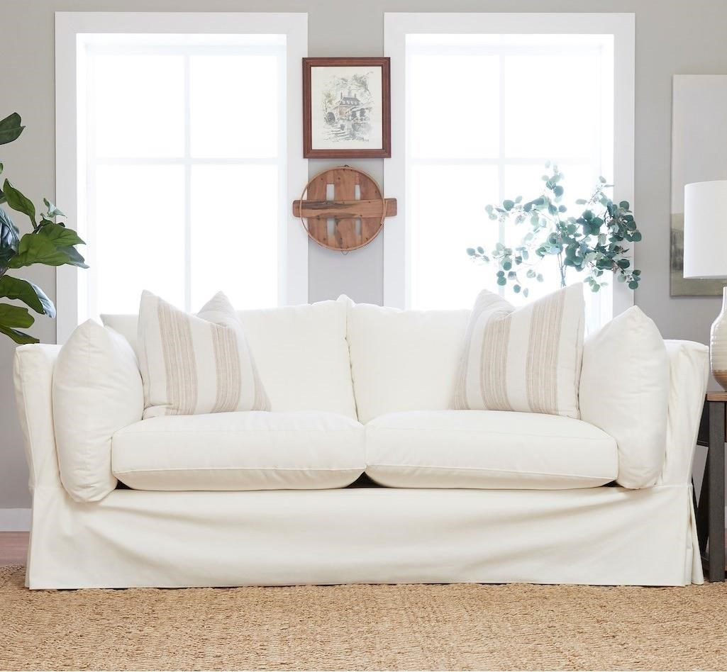 Jojo Sofa w/ Slipcover by Klaussner at Northeast Factory Direct