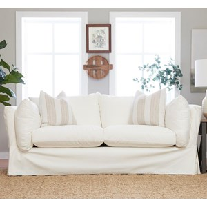 Sofa w/ Slipcover