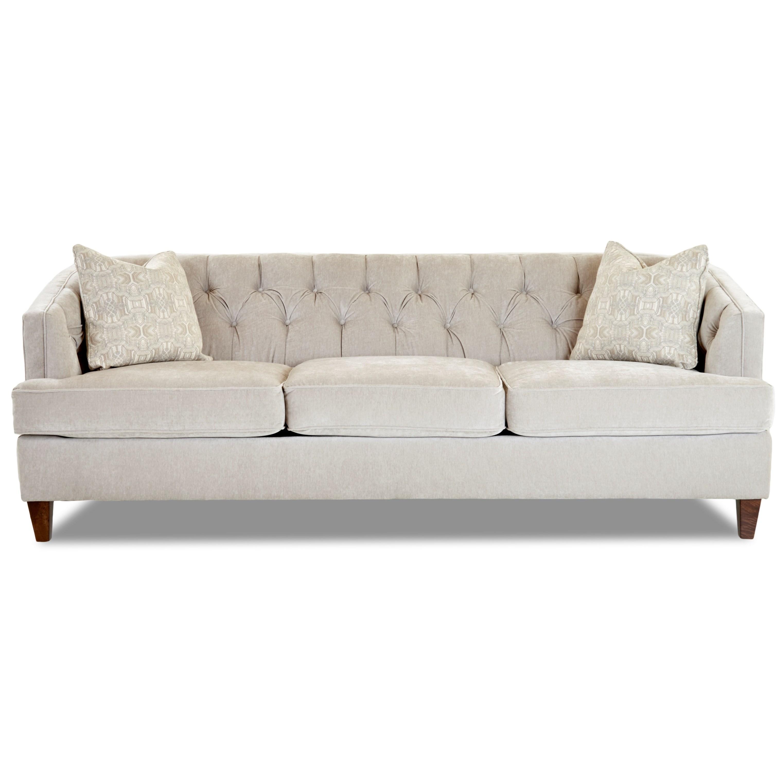 Kimbal Contemporary Sofa by Klaussner at Johnny Janosik