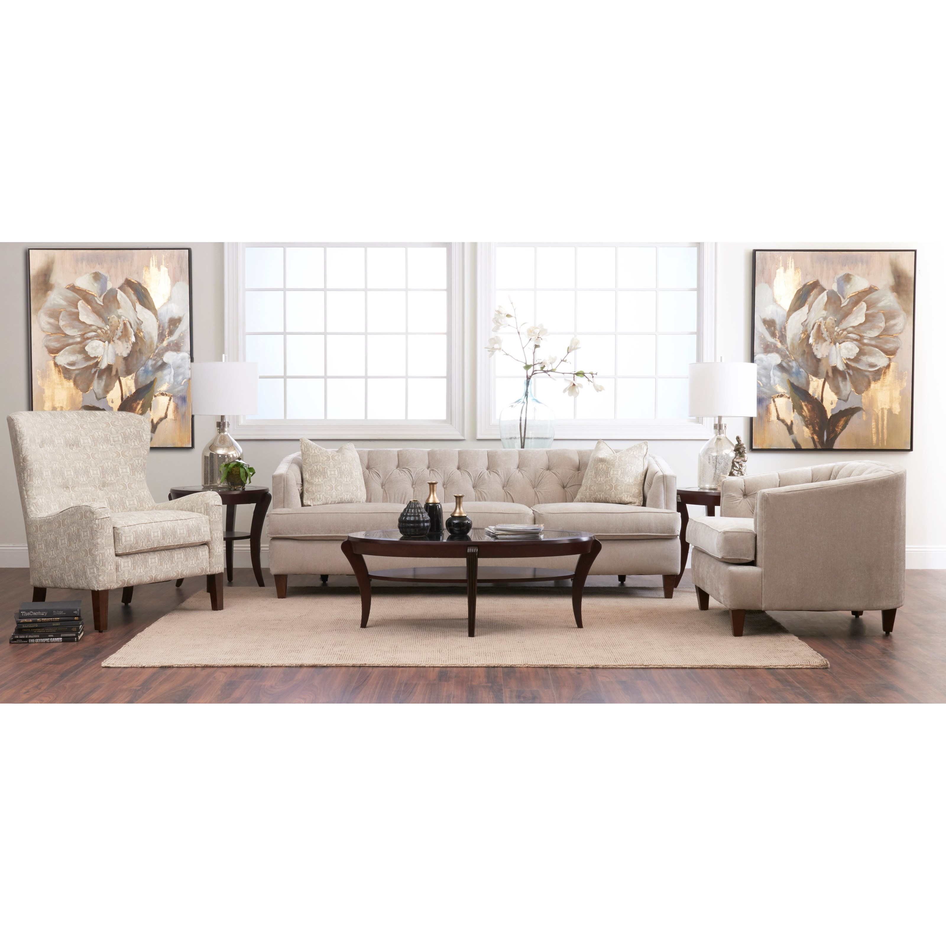 Kimbal Living Room Group by Klaussner at Godby Home Furnishings