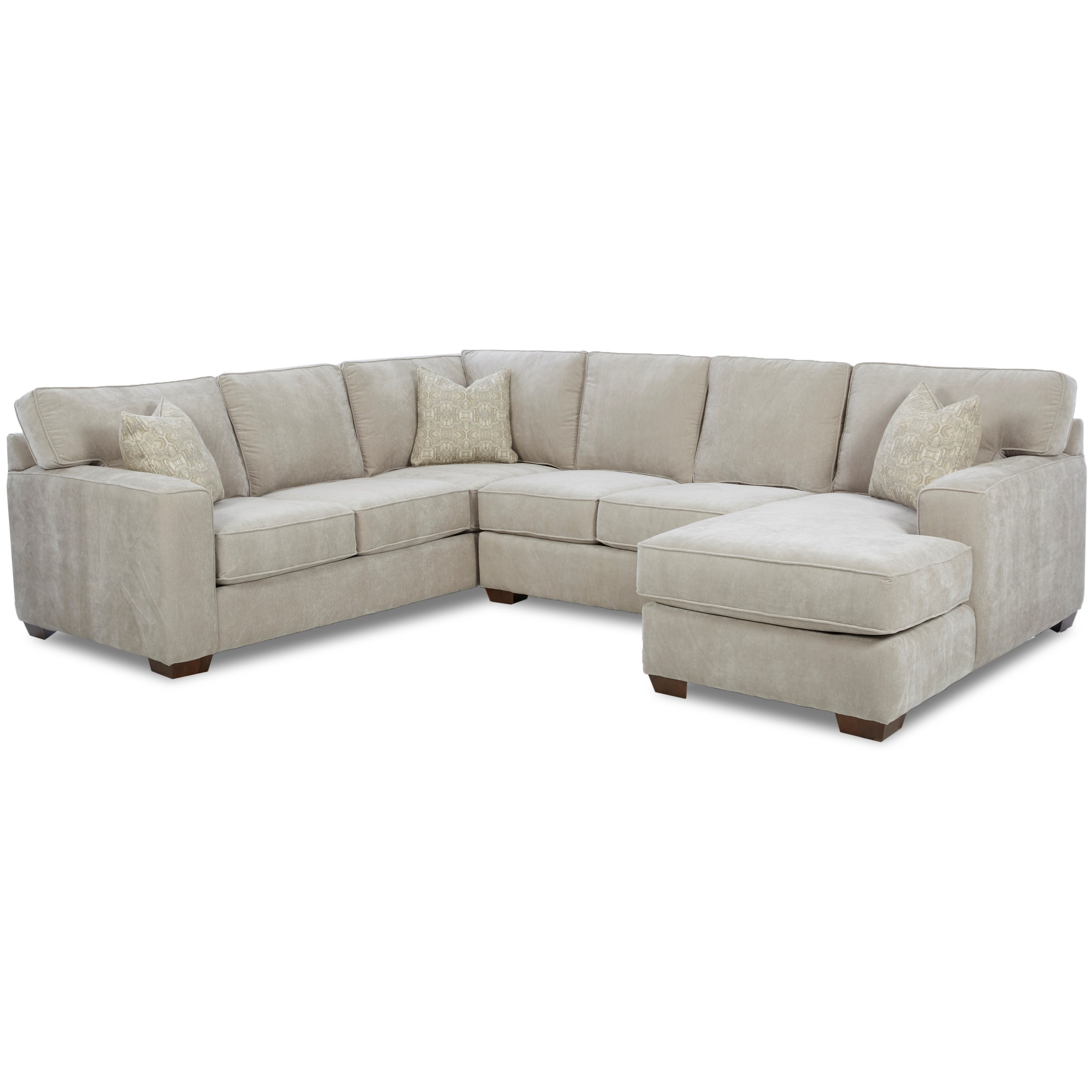 Webster Sectional Group by Klaussner at Northeast Factory Direct