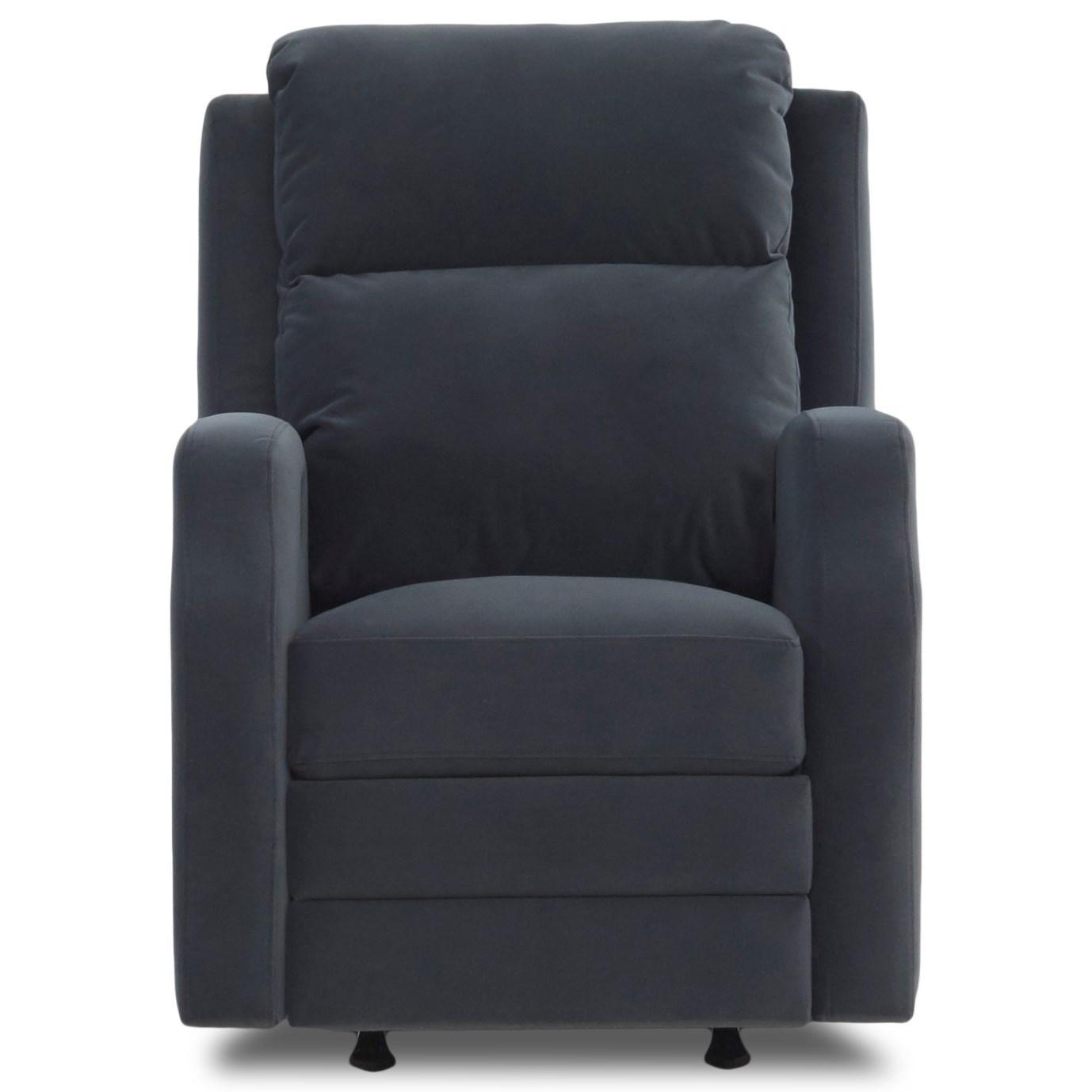 Kamiah Power Reclining Chair w/ Pwr Headrest by Klaussner at Lapeer Furniture & Mattress Center