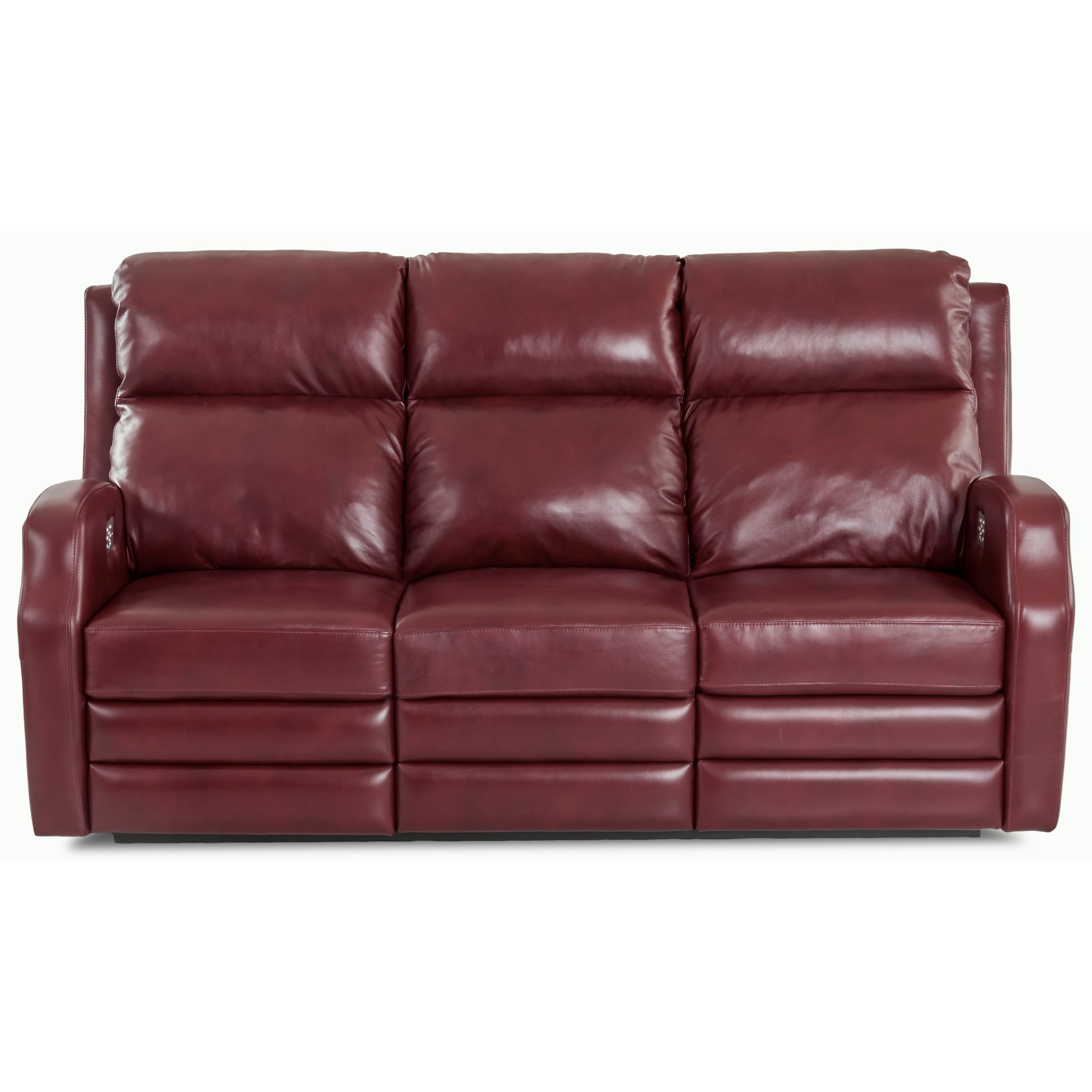 Kamiah Power Reclining Sofa w/ Pwr Head/Lumbar by Klaussner at Lapeer Furniture & Mattress Center