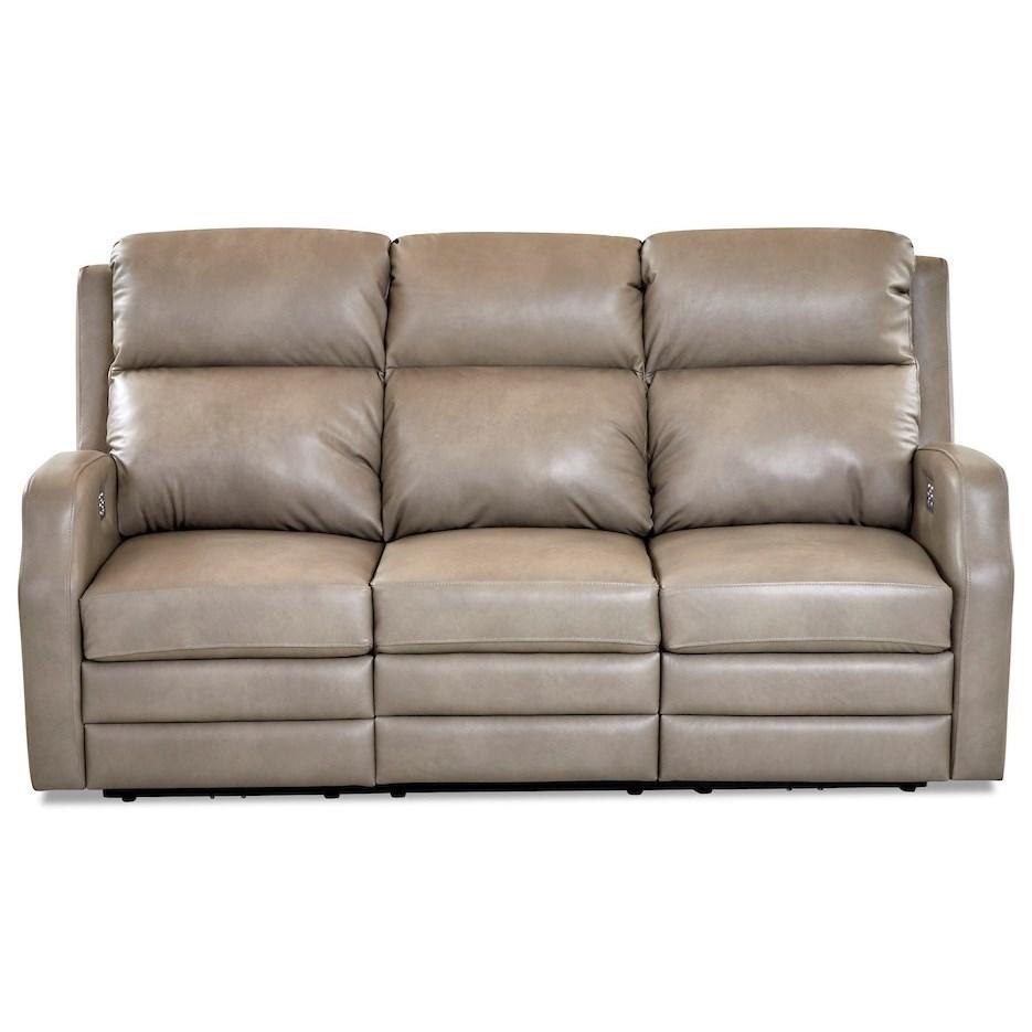 Kamiah Power Reclining Sofa by Klaussner at Johnny Janosik