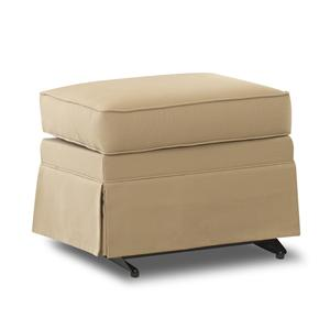 Klaussner Chairs and Accents Carolina Gliding Ottoman