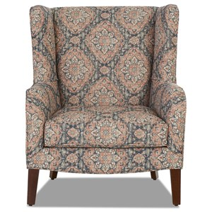 Polo Accent Wing Chair
